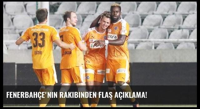 Fenerbahçe'nin rakibinden flaş açıklama!
