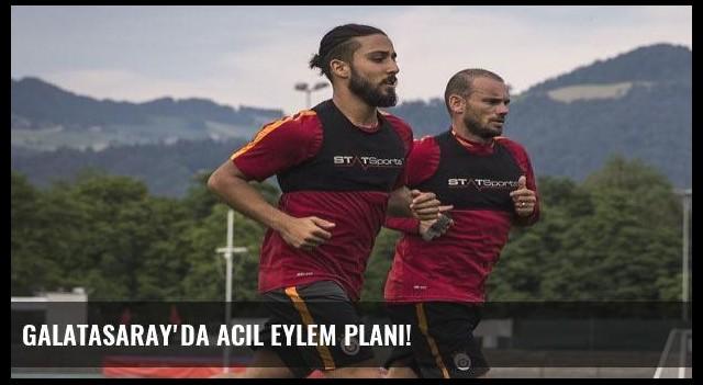 Galatasaray'da acil eylem planı!