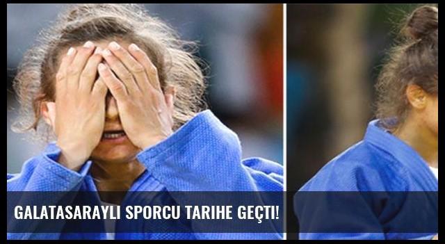 Galatasaraylı sporcu tarihe geçti!