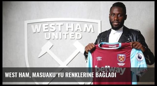 West Ham, Masuaku'yu renklerine bağladı