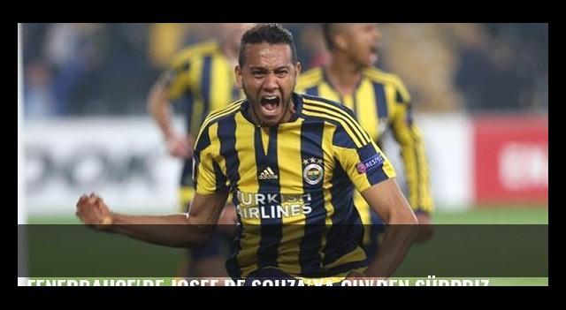 Fenerbahçe'de Josef de Souza'ya Çin'den sürpriz bir teklif geldi