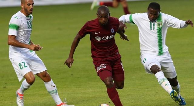 Trabzonspor hazırlık maçını 1-0 kazandı