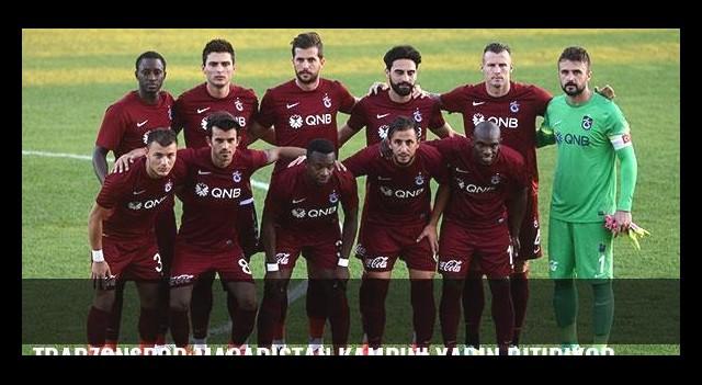 Trabzonspor Macaristan kampını yarın bitiriyor