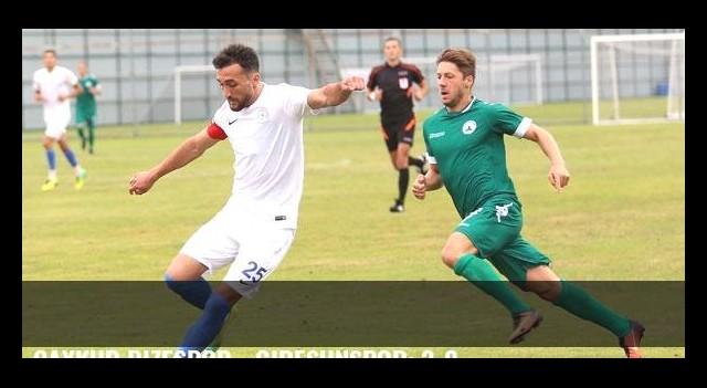 Çaykur Rizespor - Giresunspor: 3-2