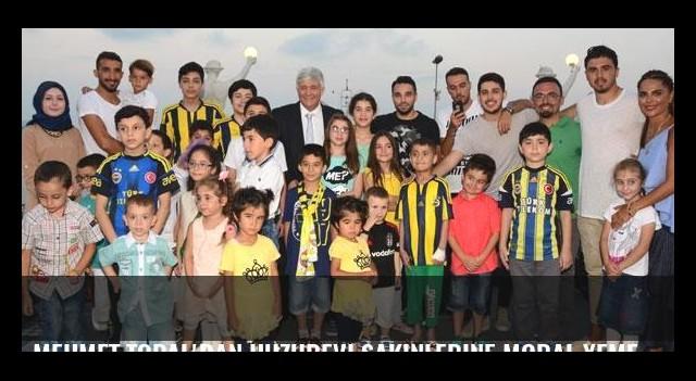Mehmet Topal'dan huzurevi sakinlerine moral yemeği