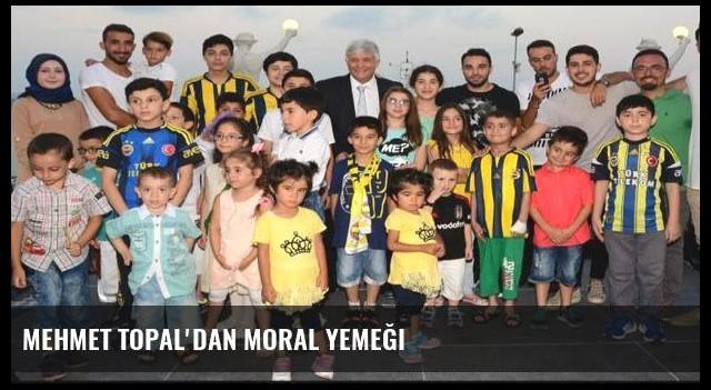 Mehmet Topal'dan moral yemeği