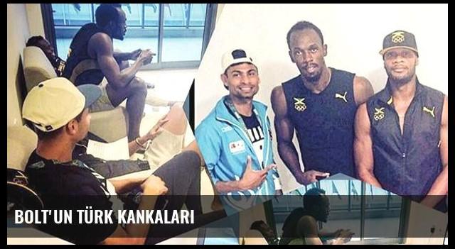 Bolt'un Türk kankaları