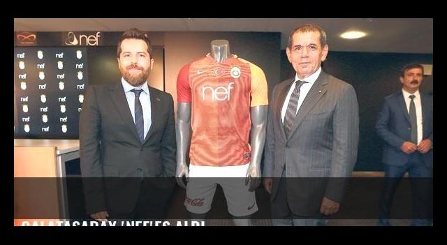 Galatasaray 'Nef'es aldı