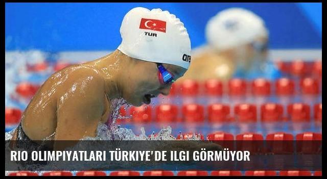 Rio Olimpiyatları Türkiye'de ilgi görmüyor