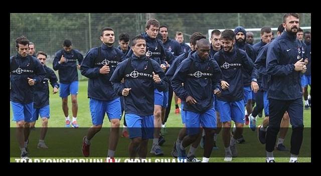 Trabzonspor'un ilk ciddi sınavı