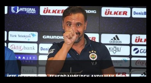 İşte Pereira'nın, Fenerbahçe'den ayrılmak için tek şartı!