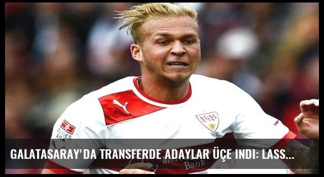 Galatasaray'da transferde adaylar üçe indi: Lassana Diarra, Cheik Tiote, Holzhauser