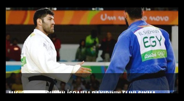 Mısırlı judocunun İsrailli rakibinin elini sıkmaması büyük tartışma yarattı