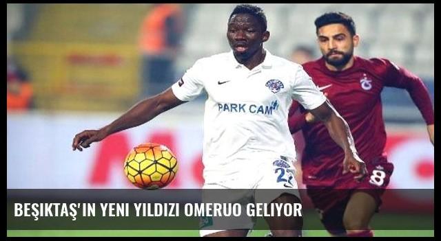 Beşiktaş'ın yeni yıldızı Omeruo geliyor