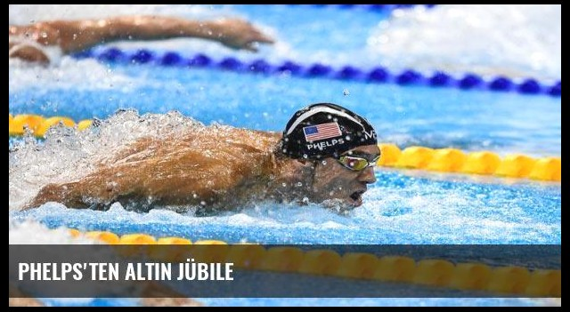 Phelps'ten altın jübile
