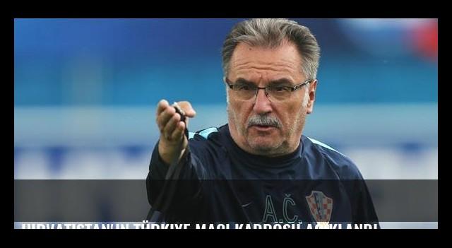 Hırvatistan'ın Türkiye maçı kadrosu açıklandı