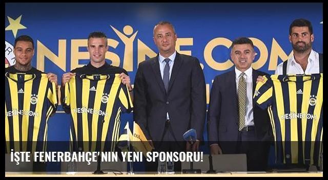 İşte Fenerbahçe'nin yeni sponsoru!
