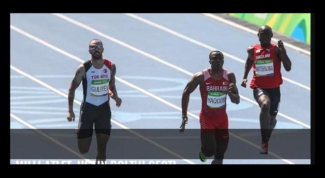 Milli atlet, Usain Bolt'u geçti