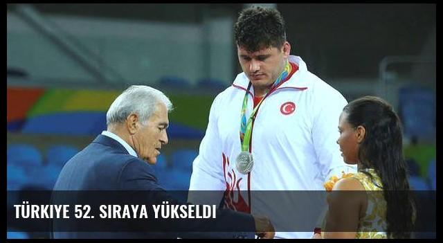 Türkiye 52. sıraya yükseldi