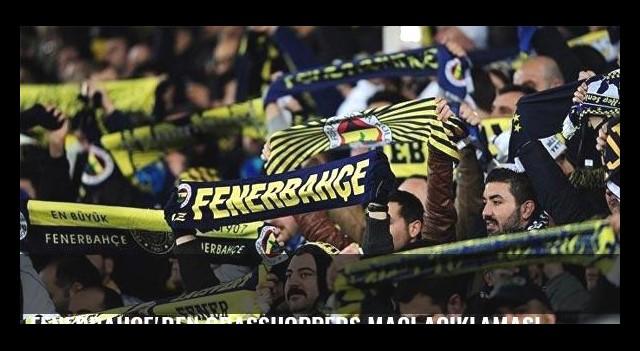 Fenerbahçe'den Grasshoppers maçı açıklaması