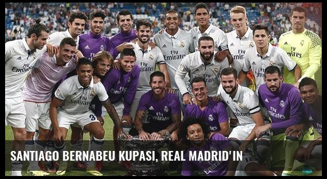 Santiago Bernabeu Kupası, Real Madrid'in