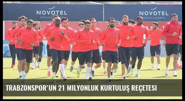 Trabzonspor'un 21 milyonluk kurtuluş reçetesi