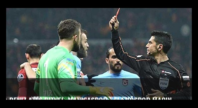 Deniz Ateş Bitnel, Manisaspor - Elazığspor maçında