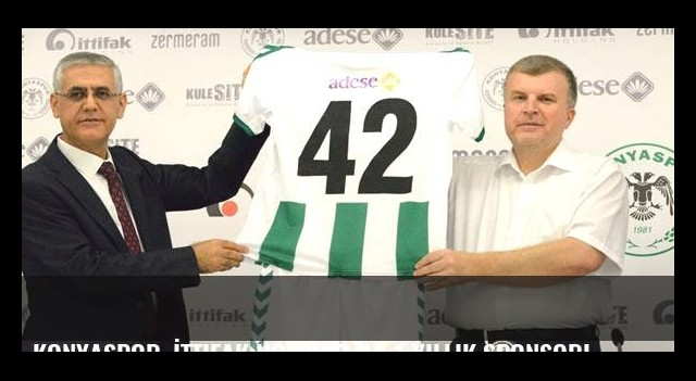 Konyaspor, İttifak Holding ile 1 yıllık sponsorluk sözleşmesi imzaladı