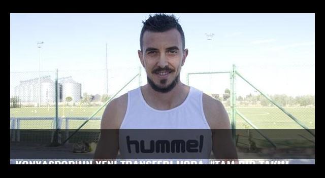 Konyaspor'un yeni transferi Hora: 'Tam bir takım oyuncusuyum'