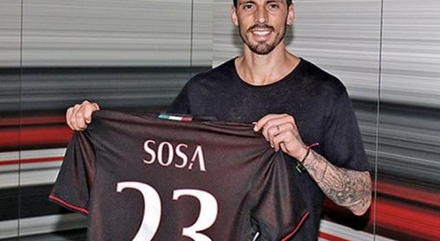 Milan taraftarının Jose Sosa tepkisi bitmek bilmiyor!