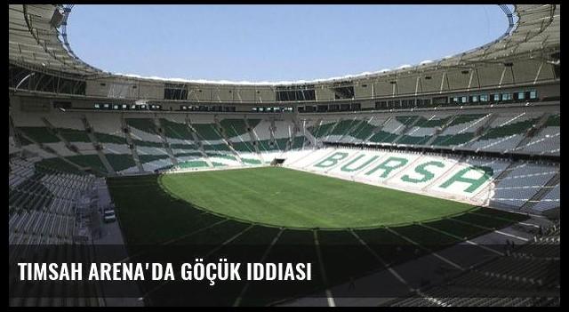 Timsah Arena'da göçük iddiası