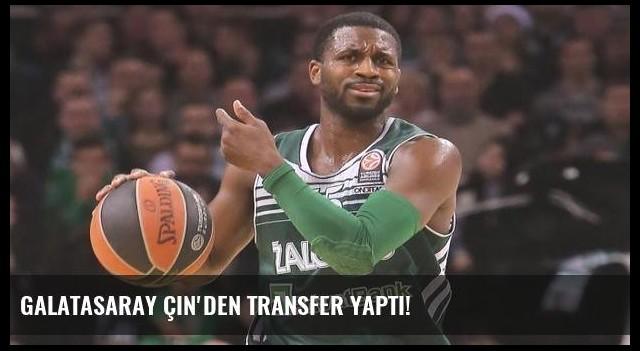 Galatasaray Çin'den transfer yaptı!