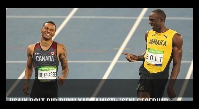 Usain Bolt bir bunu yapmamıştı: 'Seni geçebilir miyim?'