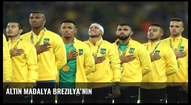 Altın madalya Brezilya'nın