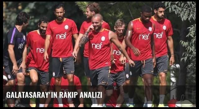 Galatasaray'ın rakip analizi
