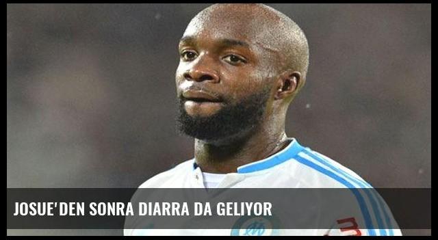Josue'den sonra Diarra da geliyor