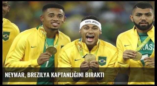 Neymar, Brezilya kaptanlığını bıraktı