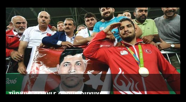 Türkiye seninle gurur duyuyor