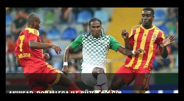Akhisar, Rodallega ile güzel! 20. gol...