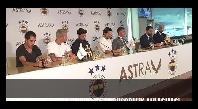 Fenerbahçe Astra Group ile sponsorluk anlaşması imzaladı