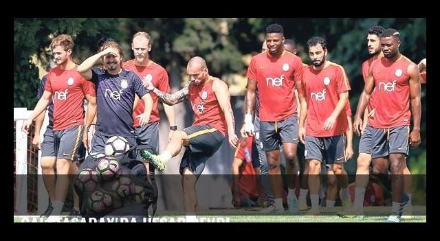 Galatasaray'da hesap devri