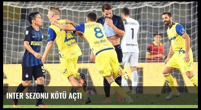 Inter sezonu kötü açtı