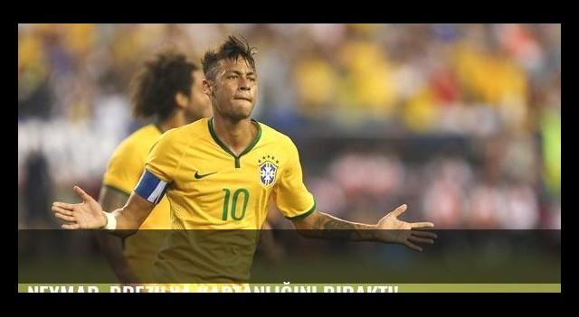 Neymar, Brezilya kaptanlığını bıraktı!