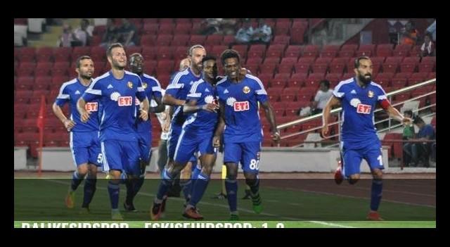 Balıkesirspor - Eskişehirspor: 1-2