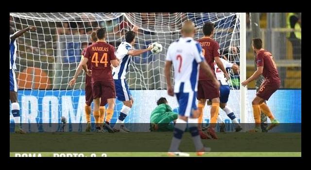Roma - Porto: 0-3