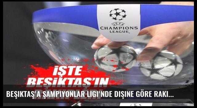 Beşiktaş'a Şampiyonlar Ligi'nde dişine göre rakipler