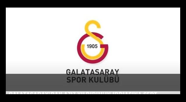 Galatasaray'dan Aziz Yıldırım'ın iddiasına sert yanıt!