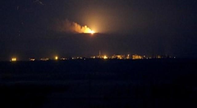 TSK Cerablus'un güneyinde YPG'yi vurdu!