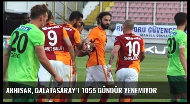 Akhisar, Galatasaray'ı 1055 gündür yenemiyor