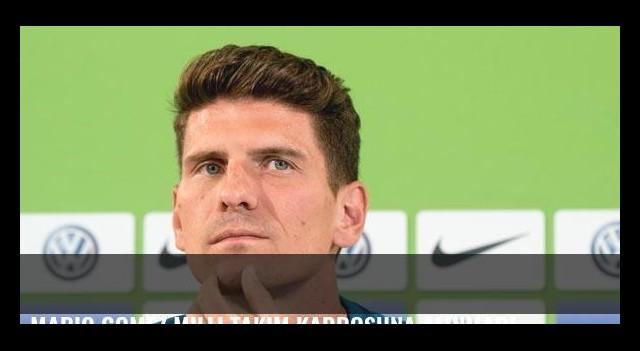 Mario Gomez milli takım kadrosuna alınmadı